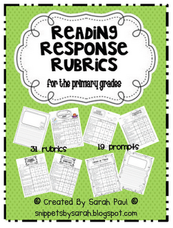 ... more about my writing rubrics mega pack and reading rubrics mega pack