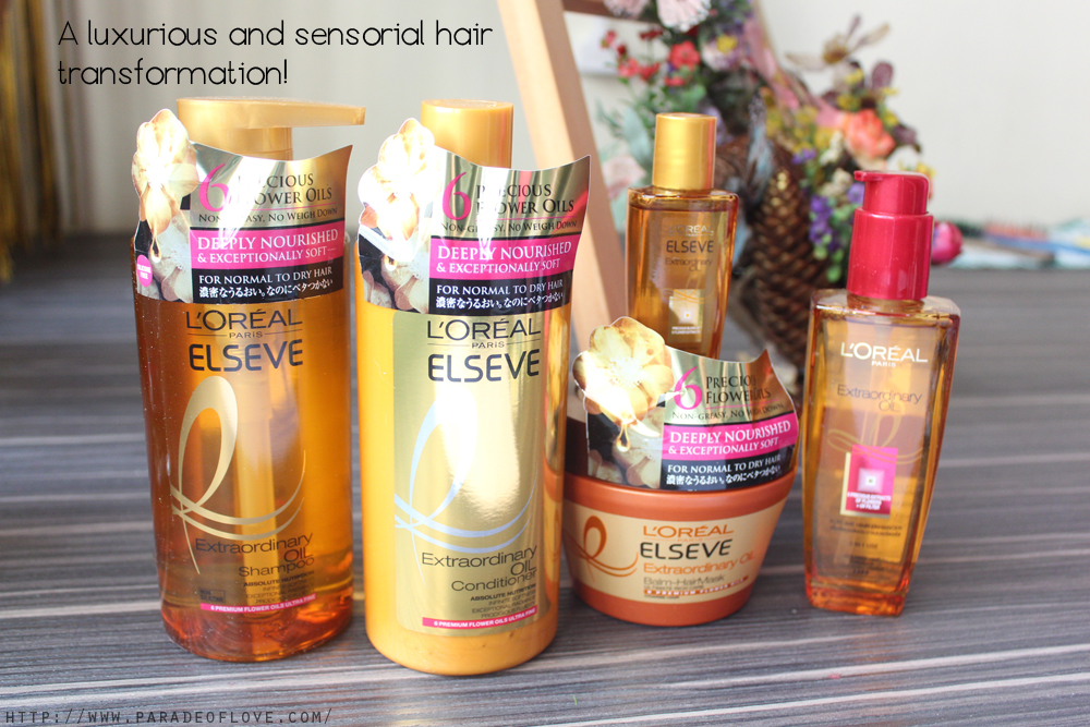 L'Oreal Extraordinary Oil Hair Care