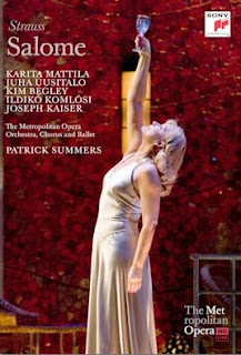Met production of Salome poster