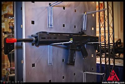 Shot Show 2012 Airsoft, Magpul PTS Masada, Magpul PTS Masada GBBR, Magpul PTS Masada AKM, Airsoft AEGs, Pyramyd Airsoft Blog, Tom Harris Media, Tominator,