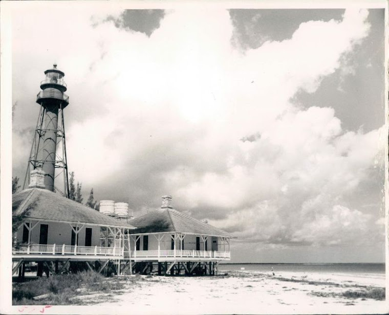 Sanibel Lighthouse 1950's