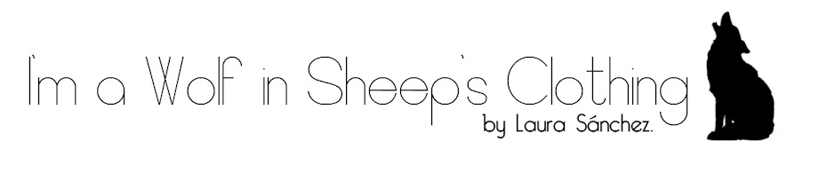 I'm a Wolf in Sheepsclothing