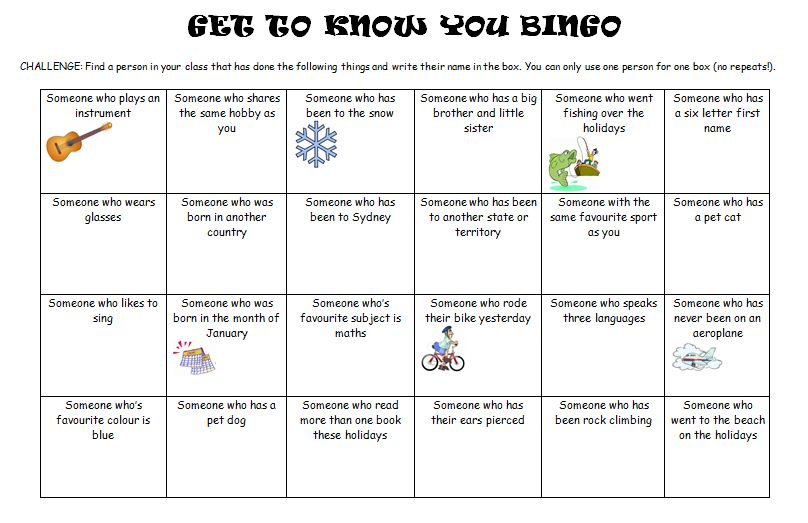 Miss As Class Ideas First Week of School Getting To Know You – Get to Know You Worksheets