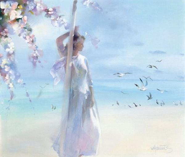 Watercolor paintings art by willem haenraets