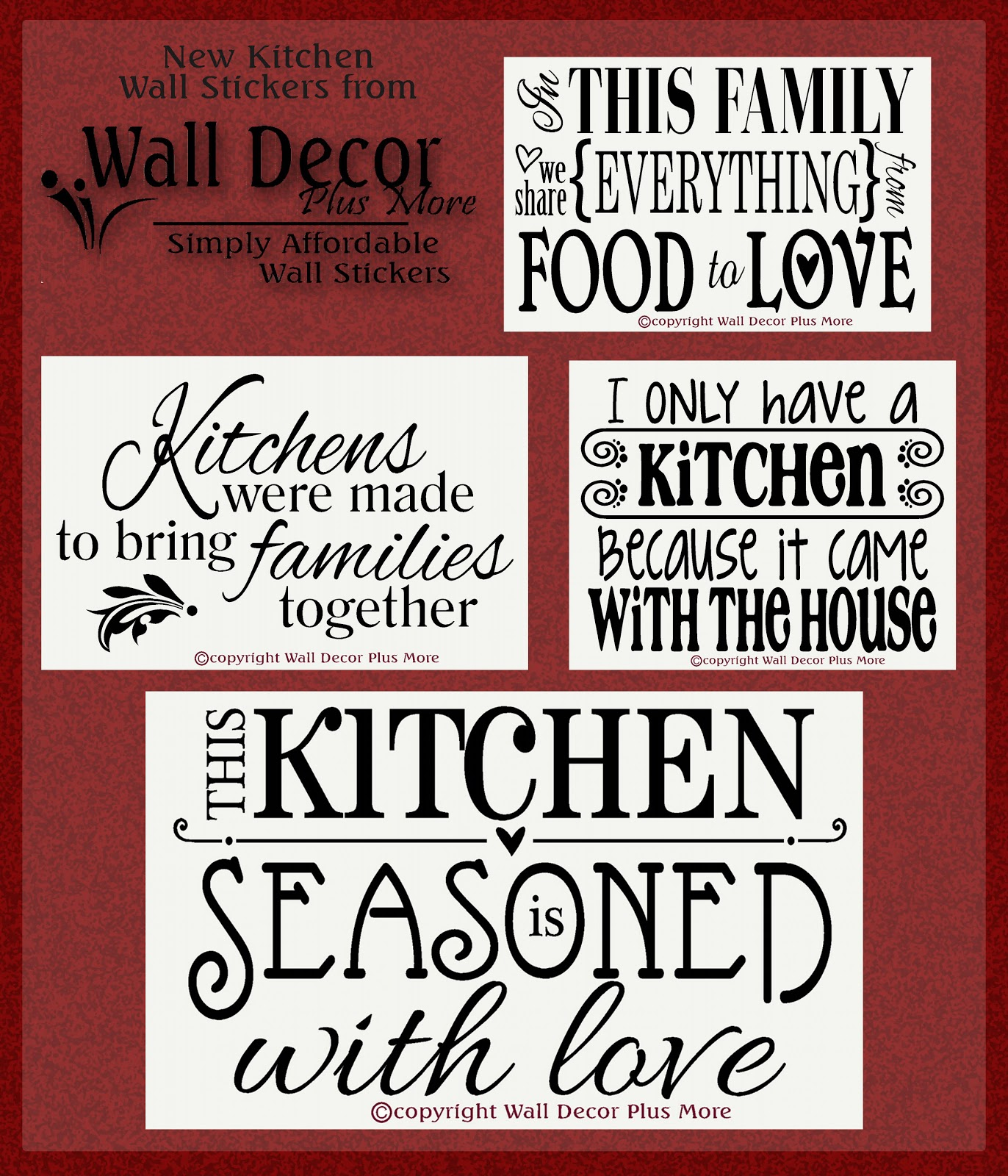 Quotes for a new kitchen quotesgram for Kitchen quotation
