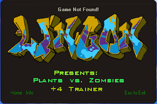 PLANTS VS ZOMBIES [CHEAT TRAINER]