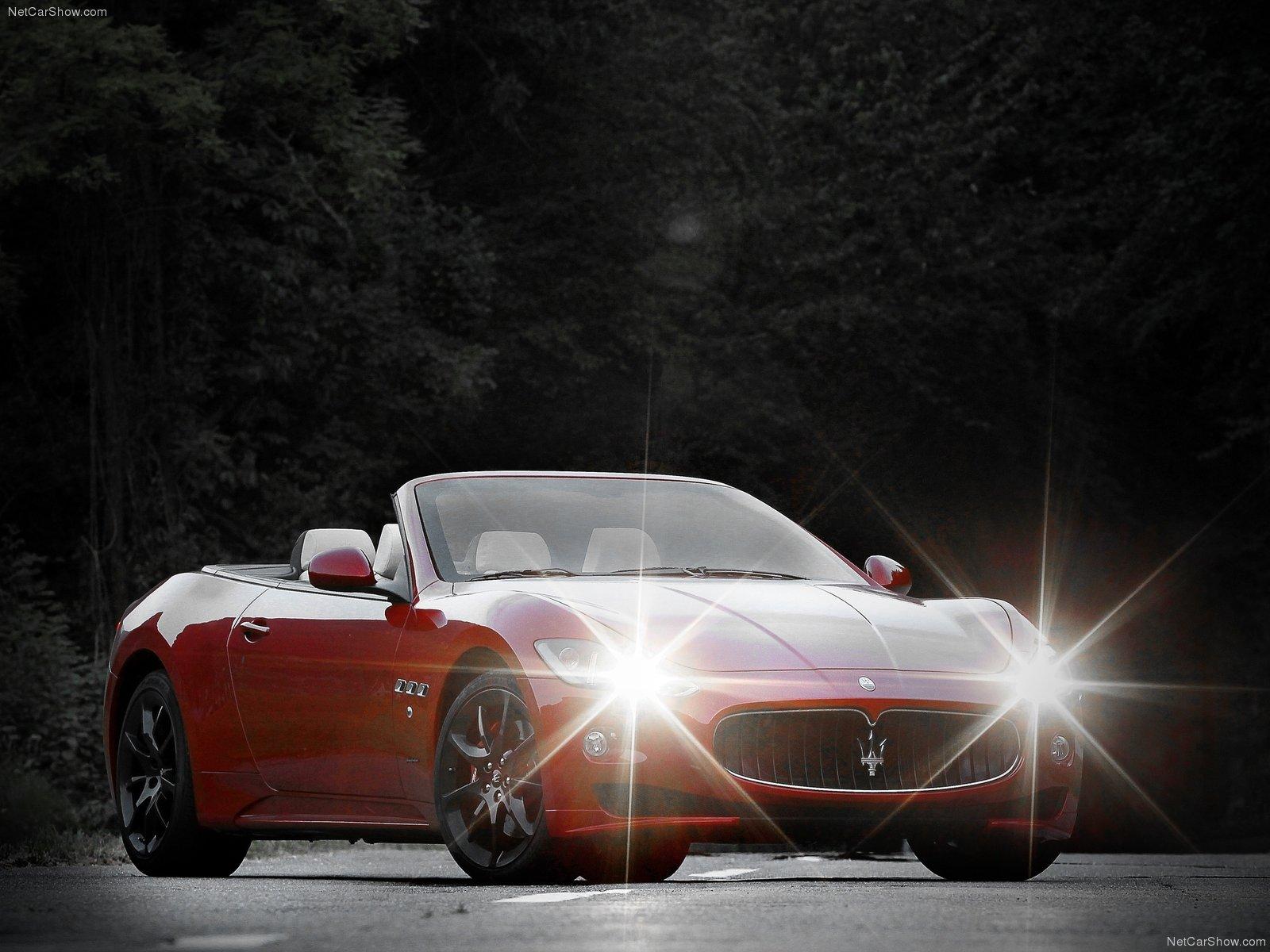 Hình ảnh siêu xe Maserati GranCabrio Sport 2012 & nội ngoại thất