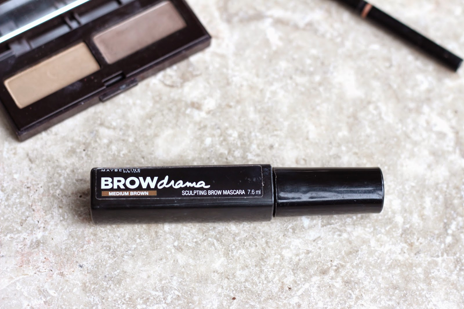 Maybelline Brow Drama Sculpting Mascara Review
