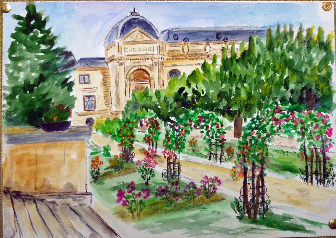 Art de vivre la peinture de peintrefiguratif photos et for Plante 1 euro paris