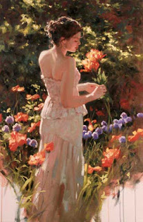 Poppies and amethyst, Richard S. Johnson