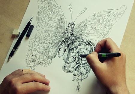 Los dibujos e ilustraciones de Alex Konahin