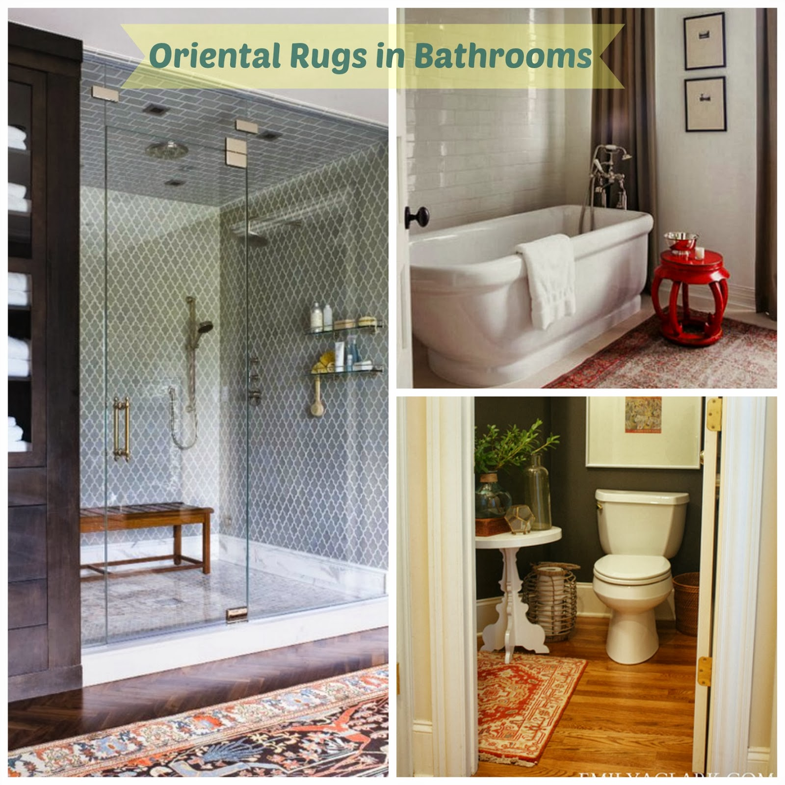 Rugs for the bathroom