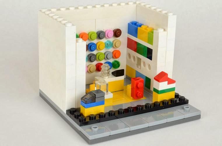 Lego 330003 Lego Mini Store Brick Shop House 280 Pieces
