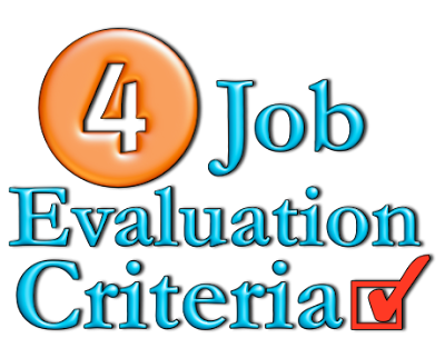 job evaluation criteria