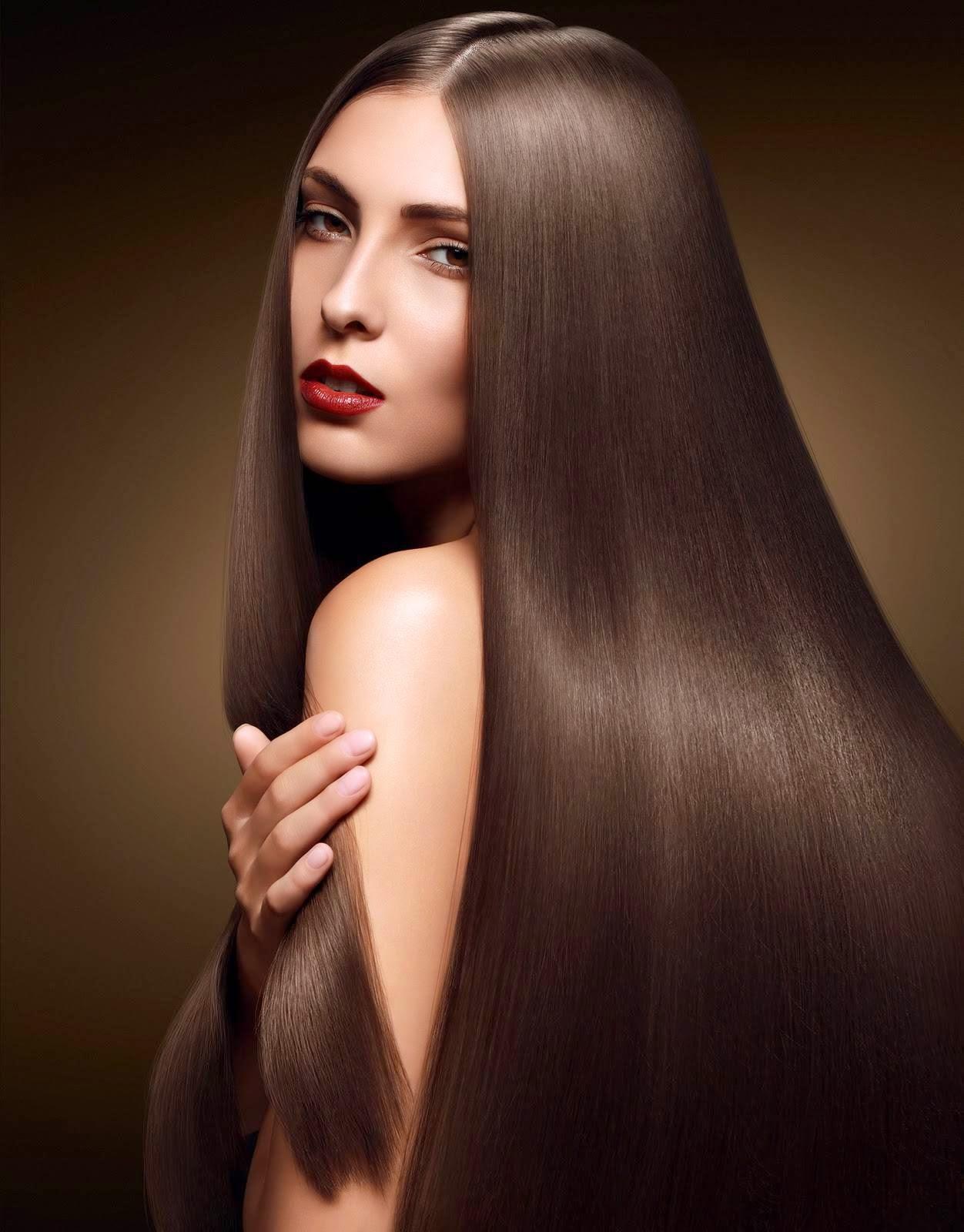 Foto Model Rambut Sehat Alami