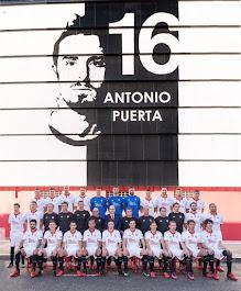 Plantilla Sevilla F.C. 2017 - 2018