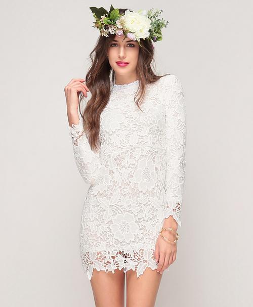 Victorian Crochet Dress
