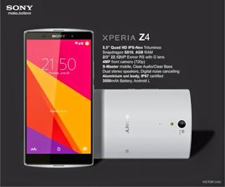 Harga Sony Xperia Z4