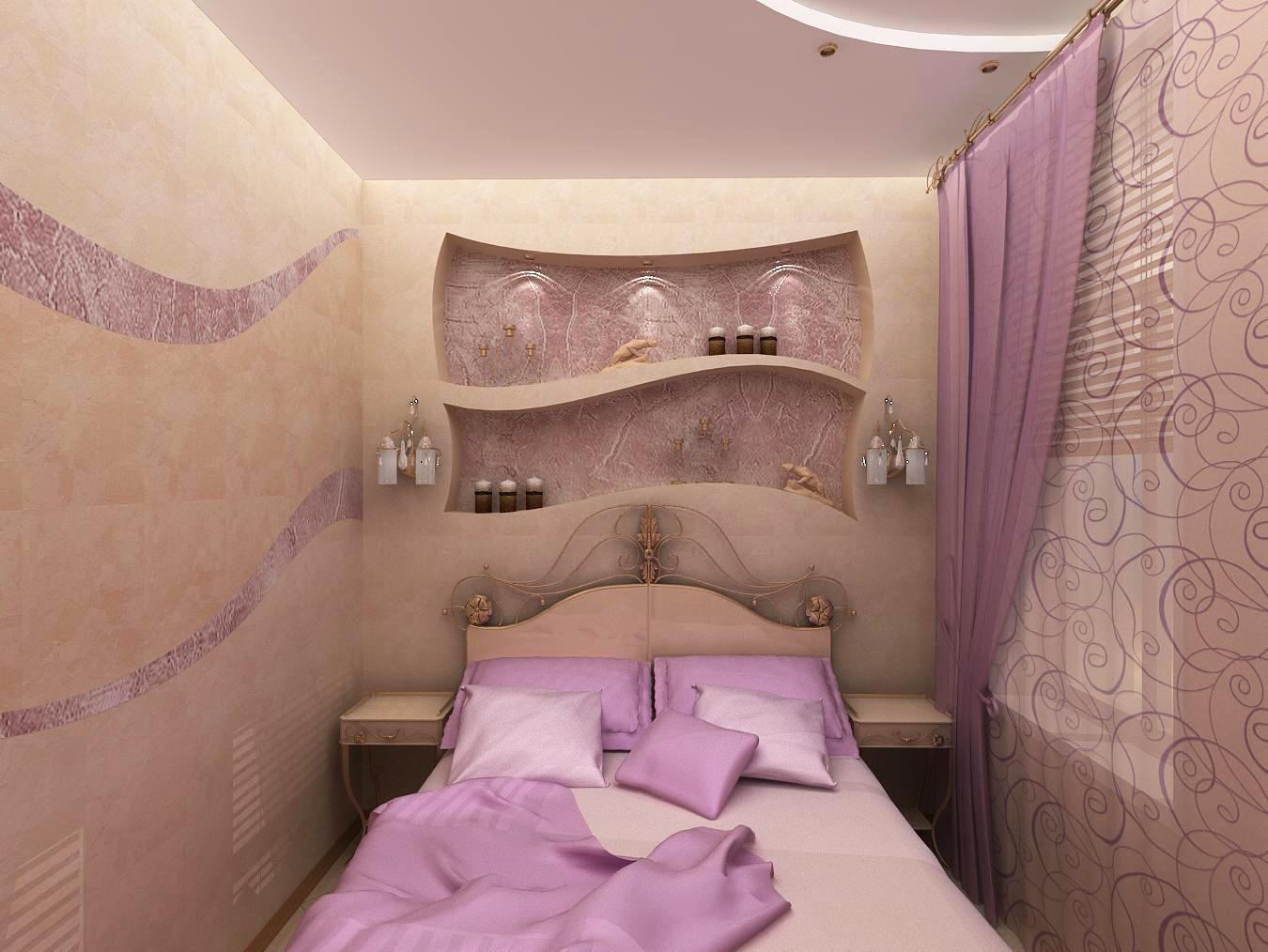 Дизайн спальни 8 метров