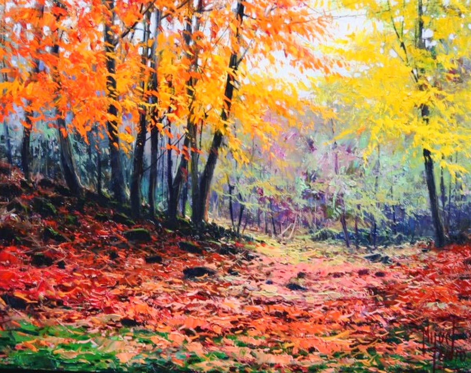 pinturas-sencillas-de-paisajes