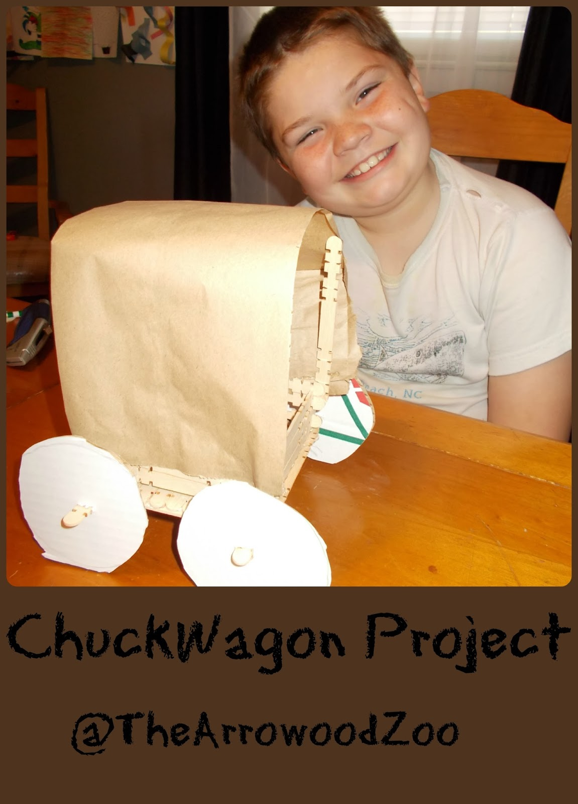 The Arrowood Zoo Covered Chuck Wagon Project