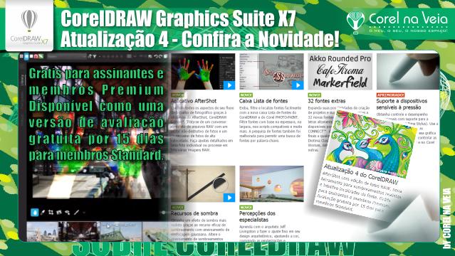 CorelDraw X7 Atualização 4