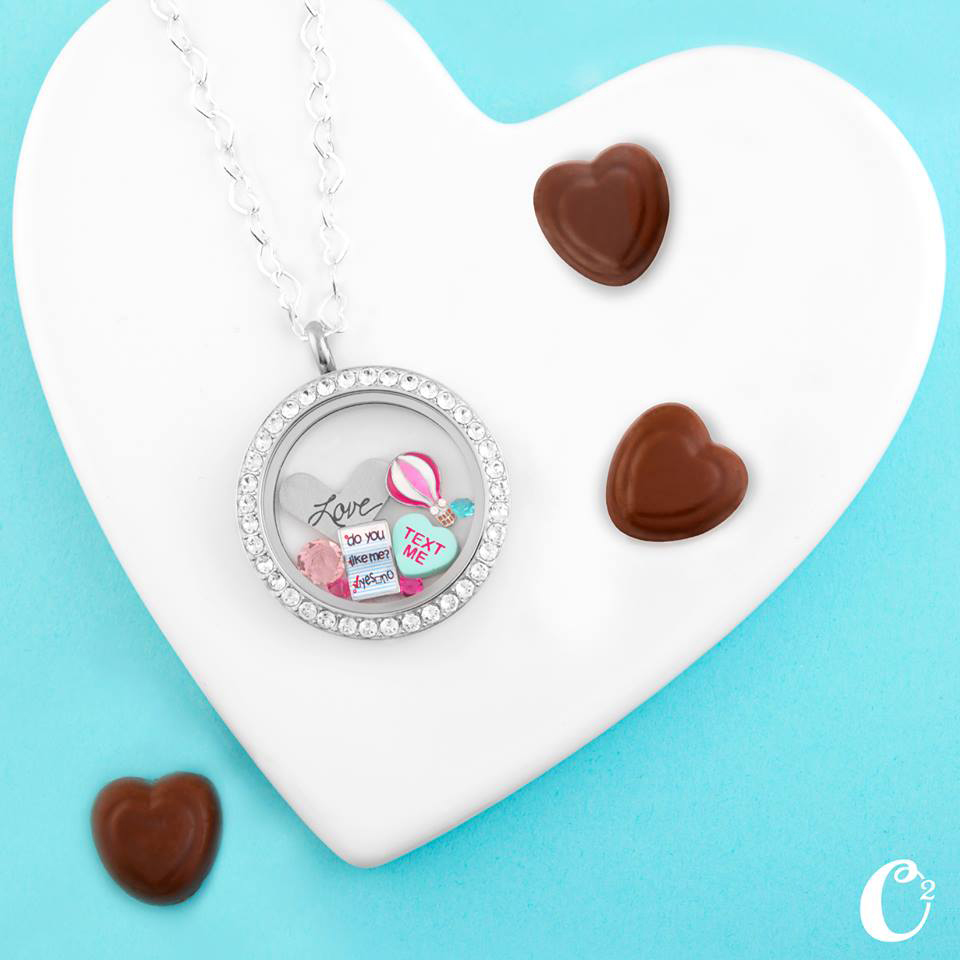 Love Note Origami Owl Living Locket | Come create your own at StoriedCharms.com