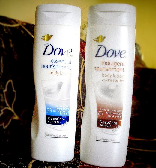 Dove Body Lotions - Review