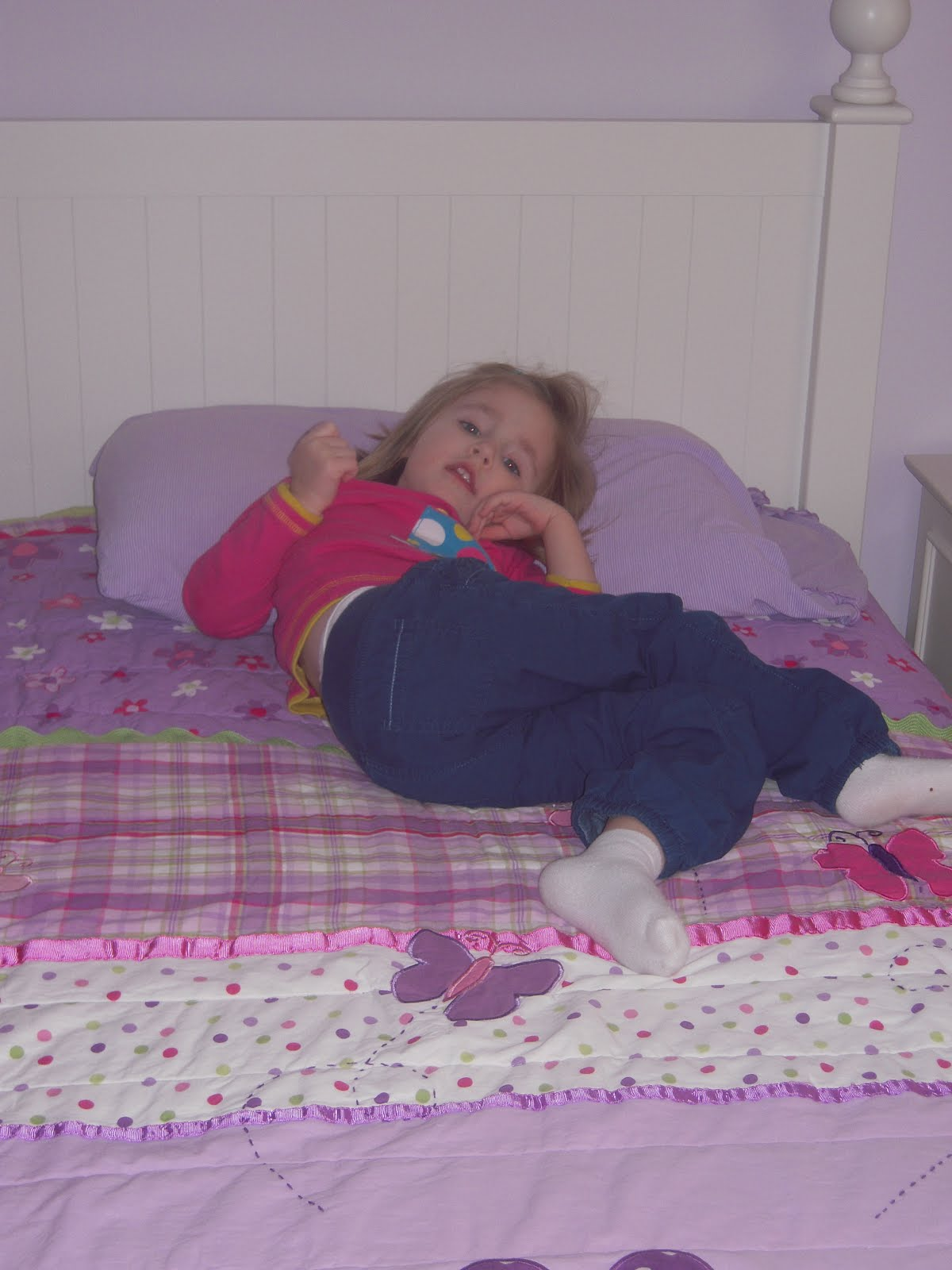 Hadley's Blog: Big Girl Bed & Going on the Potty