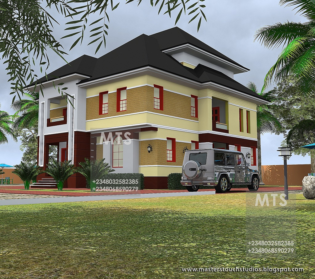 Mr osita 5 bedroom duplex with a pent house