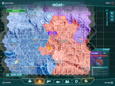 PlanetSide 2 - Indar Continent Map