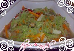 resep masakan tumis waluh campur wortel versi 2 dapur cantik