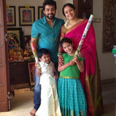 Suriya-family-diwali-celebration-photos