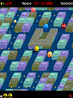 PAC MANIA Mobile Java Game