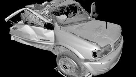 láser escáner accidentes