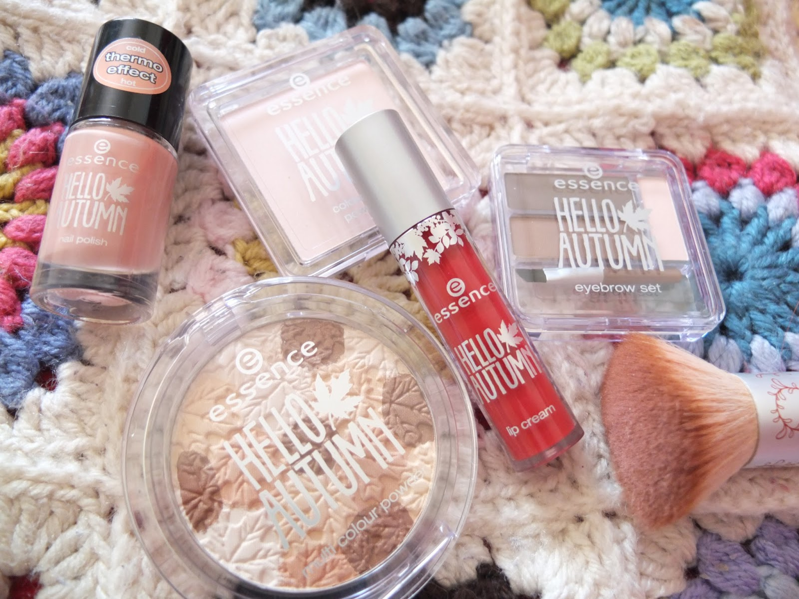 Essence Hello Autumn Limited Edition Trends collection on Hello Terri Lowe, British Beauty Blog.