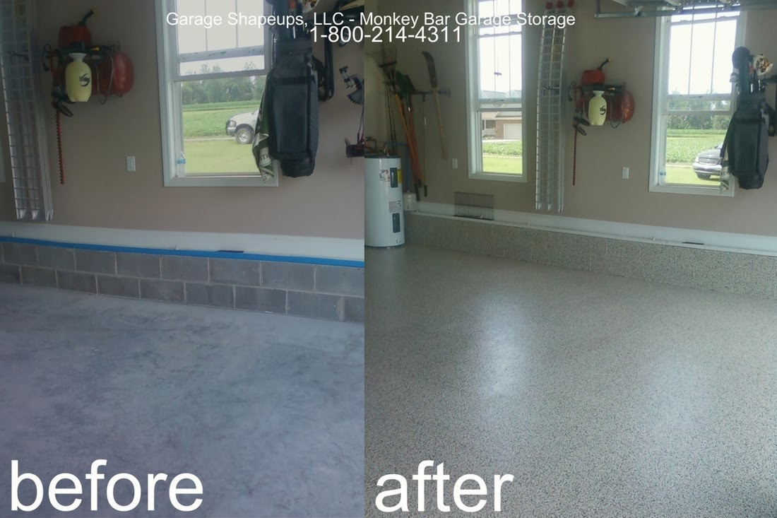 Chattanooga Garage Flooring Choices And Options Chattanooga Epoxy - Clear coat for tile floors