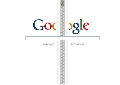 google zipper logo