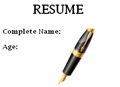 resume, example resume, desing resume, how to do a resume, pen, pencil