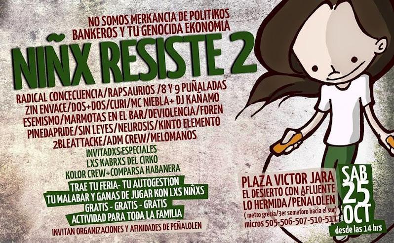 PEÑALOLEN, LO HERMIDA: NIÑX RESISTE 2