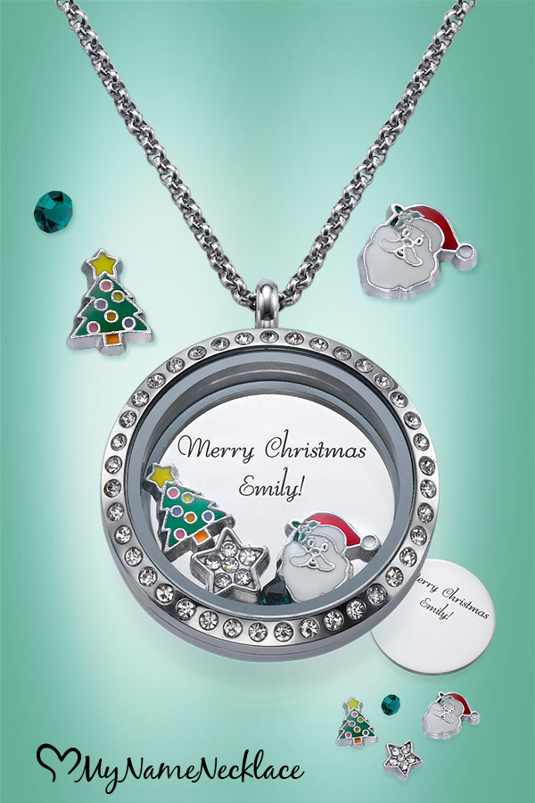 Christmas Floating Locket Gift Idea