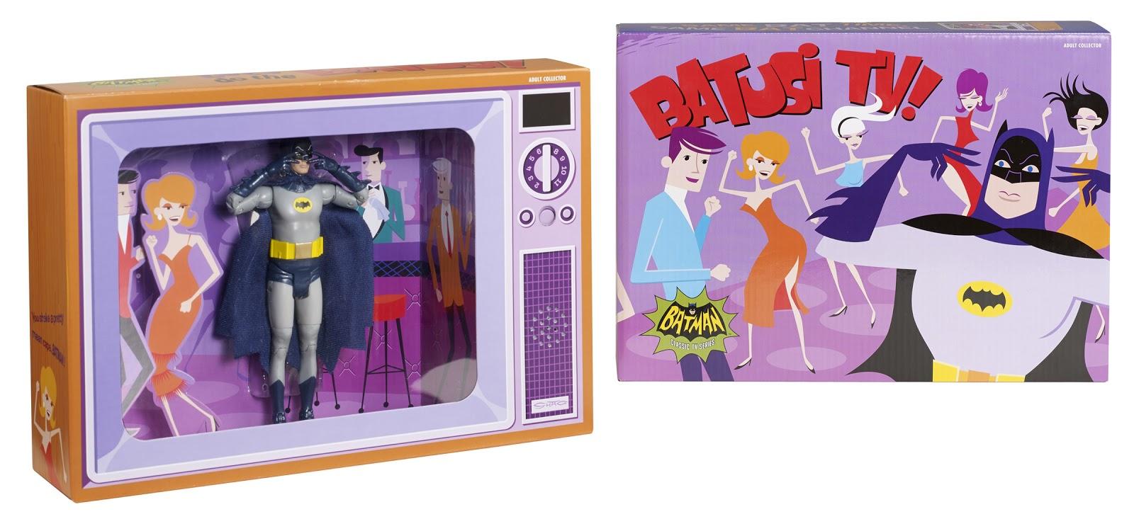 Batman Batusi Tv Toy Mid