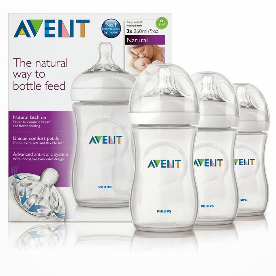 AVENT NATURAL RANGE 260ml/9oz