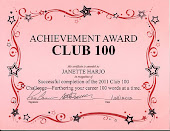 Olympia RWA 2011 Club 100 Challenge!