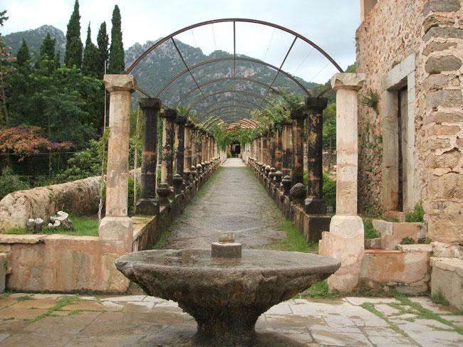 Jardines de alfabia en mallorca parte i paisaje libre for Jardines alfabia