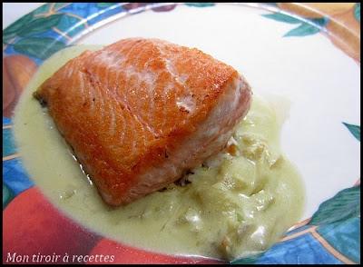 saumon agrumes wasabi