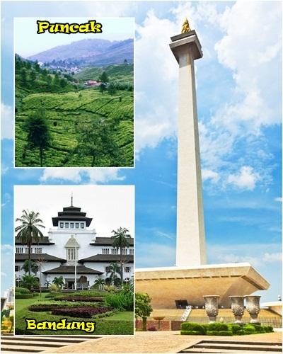 JAKARTA - PUNCAK - BANDUNG