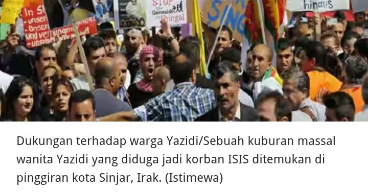 Ditemukan Kuburan Massal Wanita Yazidi Korban ISIS ...