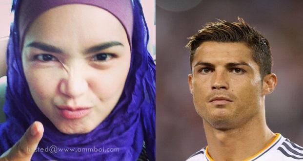 VIRAL Dato' Siti Nurhaliza Balas Komen Cristiano Ronaldo Jadi Perhatian