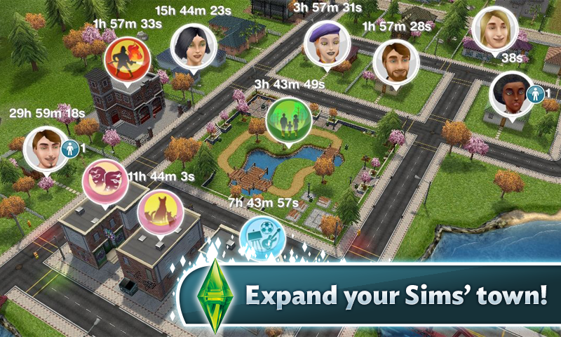 The Sims Freeplay MOD APK v2.4.10 UPDATE